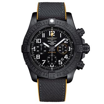 Breitling Avenger Hurricane Men's Black Resin Strap Watch - Product number 6955371