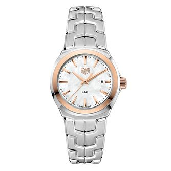 TAG Heuer Link Ladies' Stainless Steel Bracelet Watch - Product number 6956181