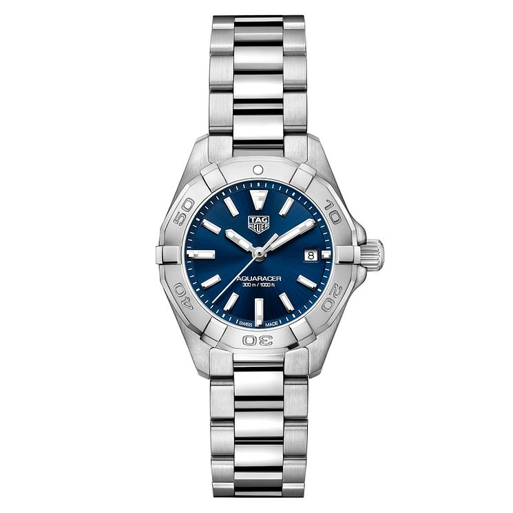 TAG Heuer Aquaracer Ladies' Stainless Steel Bracelet Watch - Product number 6956246