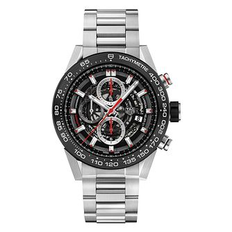 TAG Heuer Carrera Men's Stainless Steel Chronograph Watch - Product number 6956351