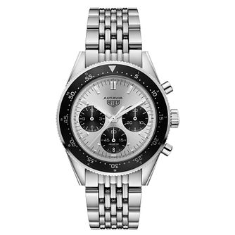 TAG Heuer Autavia Men's Stainless Steel Bracelet Watch - Product number 6956408