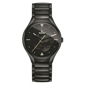 Rado Limited Edition True Phospho Men's Black Ceramic Watch - Product number 6956750