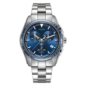 Rado Men's Hyperchrome Blue Chronograph Bracelet Watch - Product number 6956815