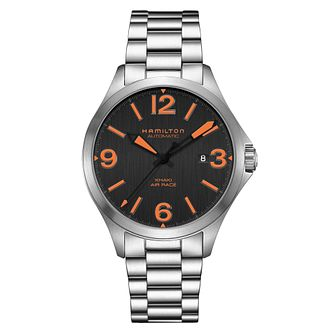 Hamilton Khaki Aviation Men's Stainless Steel Bracelet Watch - Product number 6956963