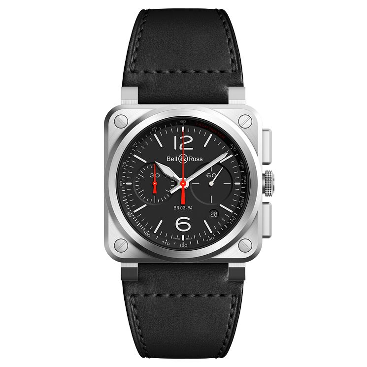 Bell and Ross BR-03 Men's Stainless Steel Strap Watch - Product number 6957285