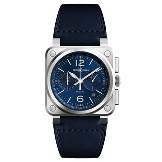 Bell and Ross BR-03 Men's Stainless Steel Strap Watch - Product number 6957293