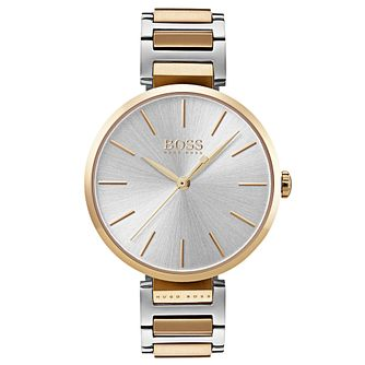 Hugo Boss Allusion Ladies' Two Colour Bracelet Watch - Product number 6957358