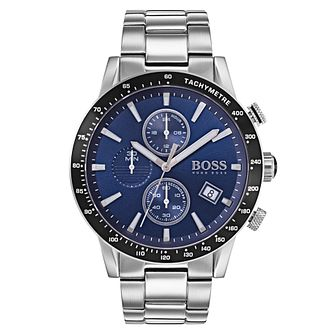 Hugo Boss Men's Blue Chronograph Bracelet Watch - Product number 6957382