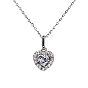 CARAT* LONDON Amara sterling silver Heart Pendant - Product number 6957641