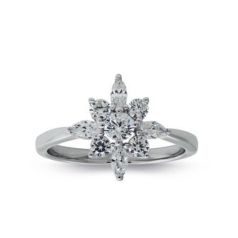 Carat Noa Silver Ring Size P. - Product number 6957781