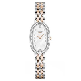 Longines Symphonette Ladies' Diamond Two Colour Watch - Product number 6959113