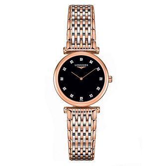 Longines Le Grande Classique Ladies Two Colour Diamond Watch - Product number 6959172