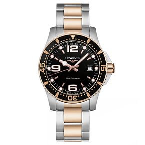 Longines HydroConquest Men's Two Colour Black Dial Watch - Product number 6959334