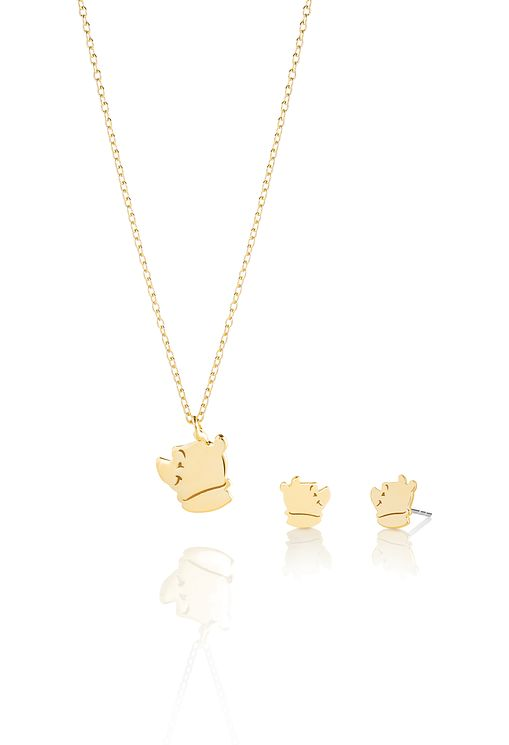 Chamilia Disney Winnie The Pooh Gold Plated Jewellery Set - Product number 6987966