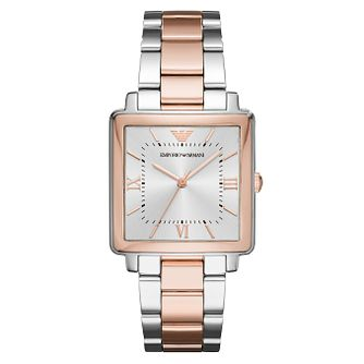 Emporio Armani Ladies' Two Colour Bracelet Watch - Product number 6988261