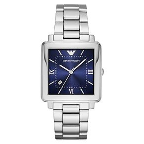 Emporio Armani Men's Stainless Steel Square Bracelet Watch - Product number 6988326