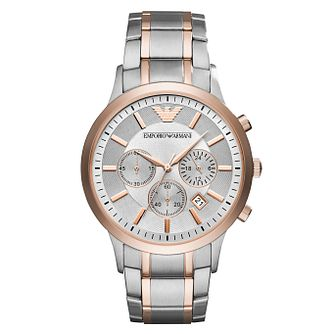 Emporio Armani Men's Two Colour Bracelet Watch - Product number 6988350