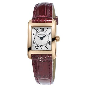 Frederique Constant Carree Ladies' Gold Plated Watch - Product number 6993699
