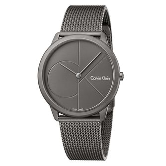 Calvin Klein Grey Ion Plated Bracelet Watch - Product number 8000077