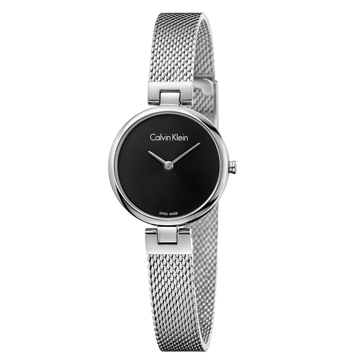 Calvin Klein Ladies' Stainless Steel Mesh Bracelet Watch - Product number 8000107