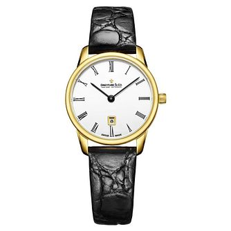 Dreyfuss & Co Ladies' Yellow Gold Plated Bracelet Watch - Product number 8008582