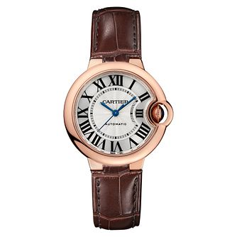 Cartier Ballon Bleu Ladies' 18ct Rose Gold Strap Watch - Product number 8014698