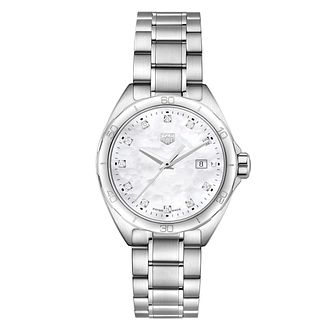 TAG Heuer Formula 1 Ladies' Diamond Stainless Steel Watch - Product number 8015880