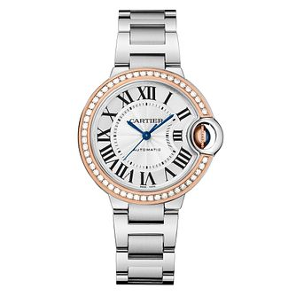 Cartier Ballon Bleu Ladies' Two Colour Bracelet Watch - Product number 8018979