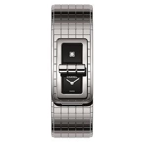 Chanel Code Coco Ladies' Stainless Steel Diamond Watch - Product number 8020434