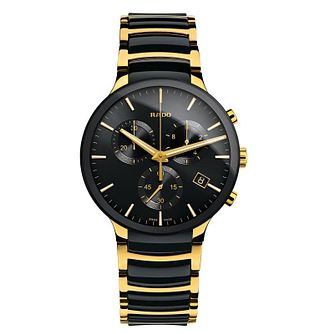 Rado Centrix Men's Two Colour Bracelet Watch - Product number 8021104