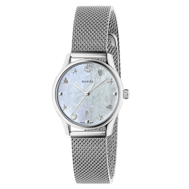 Gucci G-Timeless Ladies' Stainless Steel Bracelet Watch - Product number 8021341