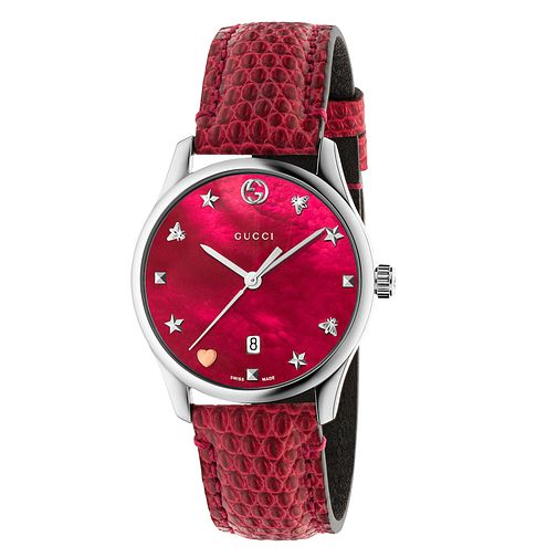 Gucci G-Timeless Ladies' Stainless Steel Strap Watch - Product number 8021368