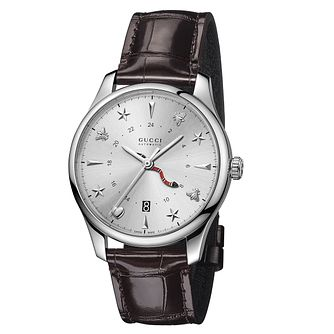 Gucci G-Timeless Men's Stainless Steel Strap Watch - Product number 8021694