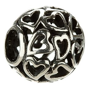 Chamilia - Sterling Silver Captured Hearts Charm - Product number 8024154