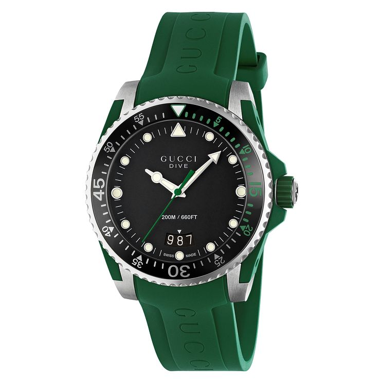 Gucci Dive Men's Stainless Steel Strap Watch - Product number 8027692