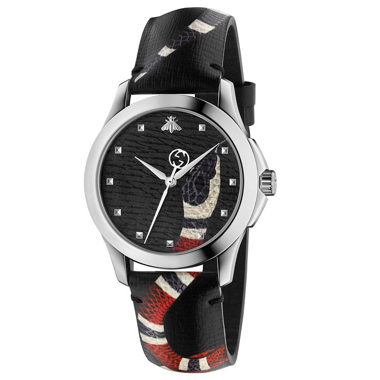Gucci Le Marché des Merveilles Ladies' Snake Strap Watch - Product number 8027730