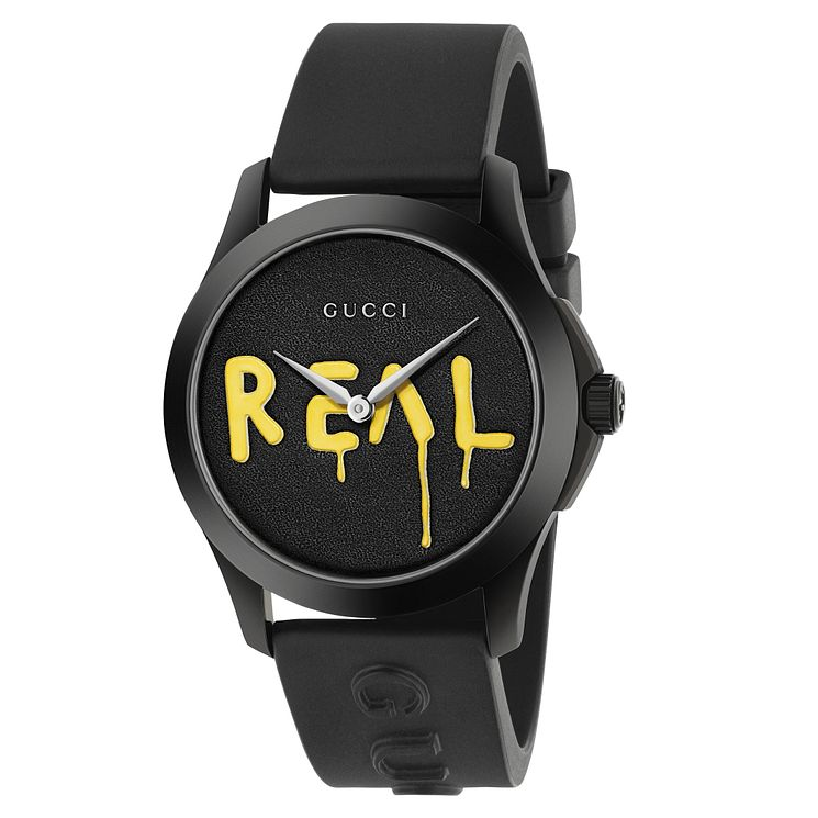 Gucci G-Timeless Men's Ion Plated Graffiti Watch - Product number 8028184
