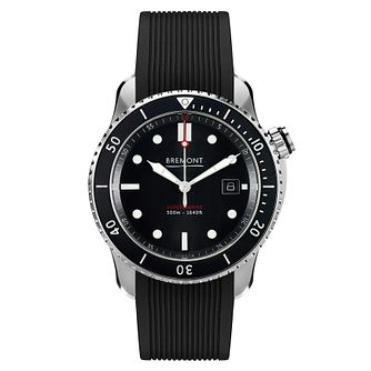 Bremont Supermarine S500 Men's Black Rubber Strap Watch - Product number 8029105