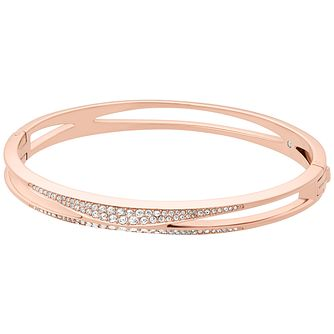 Michael Kors Beyond Brilliant Rose Gold-Tone Bangle - Product number 8031789