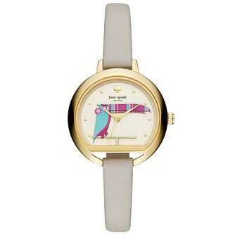 Kate Spade Holland Ladies' Yellow Gold-Tone Strap Watch - Product number 8039178
