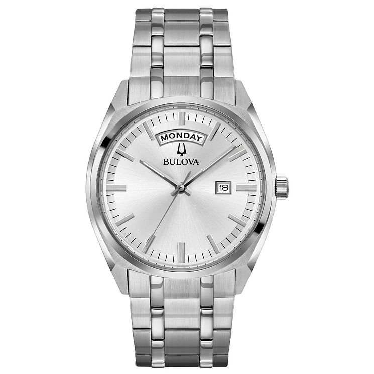 Bulova Men's Stainless Steel Bracelet Watch - Product number 8043639