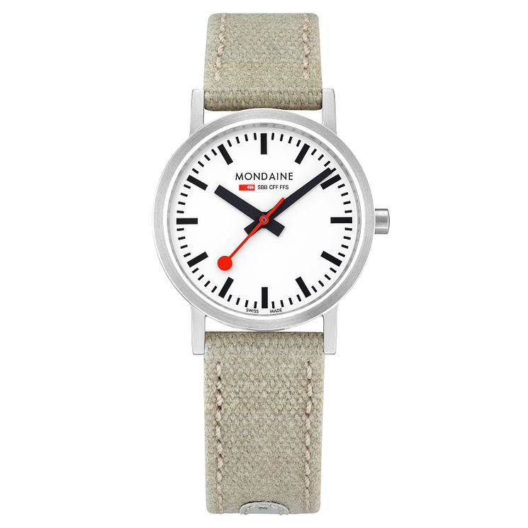 Mondaine Classic Ladies' Fabric Strap Watch - Product number 8043744