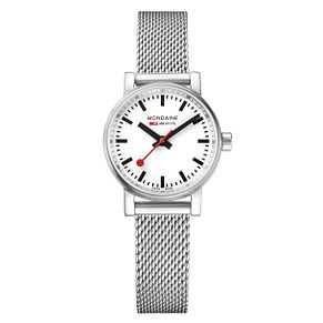 Mondaine Ladies' Evo2 Petite Steel Mesh Strap Watch - Product number 8043841