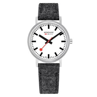 Mondaine Classic Men's Fabric Strap Watch - Product number 8043922