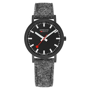Mondaine Classic Men's Fabric Strap Watch - Product number 8043930