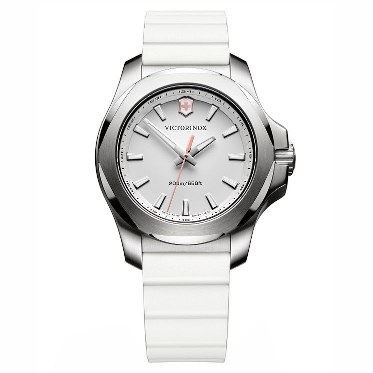 Victorinox Ladies' I.N.O.X. V Rubber Strap Watch - Product number 8044090