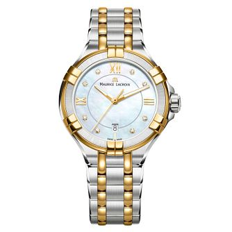 Maurice Lacroix Aikon Ladies' Two Colour Diamond Watch - Product number 8045925