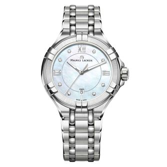 Maurice Lacroix Aikon Ladies' Stainless Steel Diamond Watch - Product number 8045941