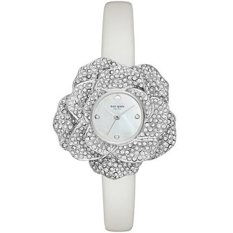 Kate Spade Ladies' Stainless Steel Flower Strap Watch - Product number 8046476