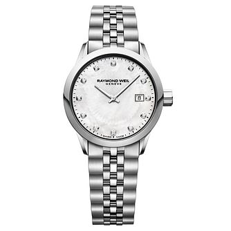 Raymond Weil Freelancer Ladies' Steel Diamond Watch - Product number 8046999